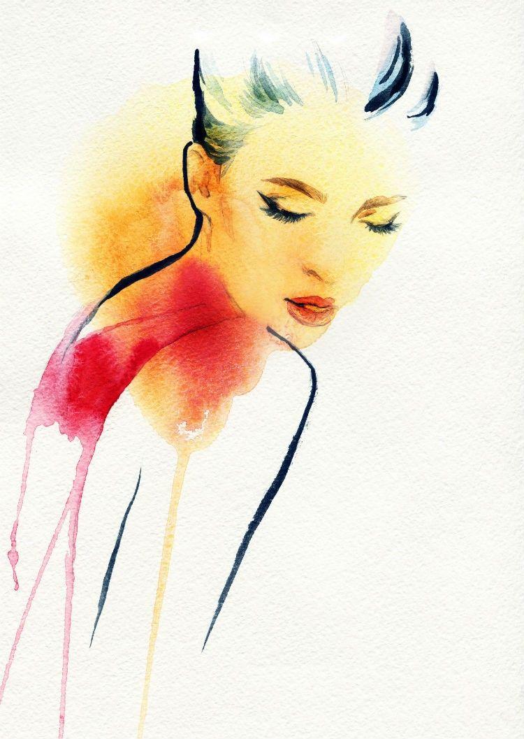 750x1057 Style Sketches O Lado Ilustrado Do Mundo Da Moda ~to Illustrate