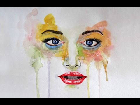 480x360 Watercolor Painting