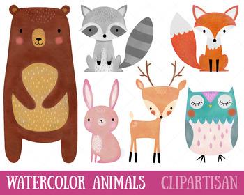 350x280 Woodland Animals Clip Art By Clipartisan Teachers Pay Teachers