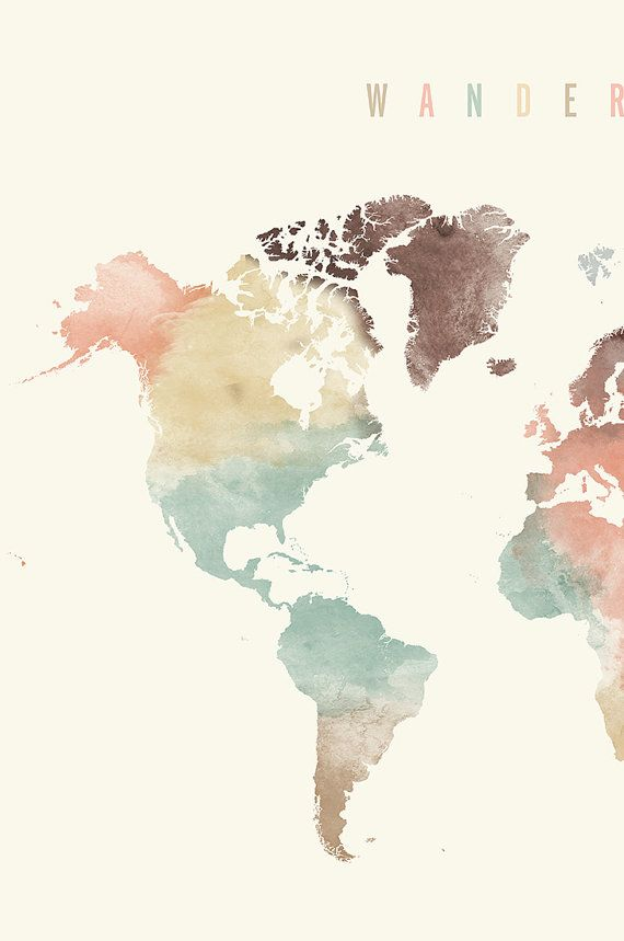 The Best Free World Map Watercolor Images Download From