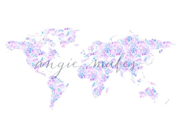 The Best Free World Map Watercolor Images Download From 1199 Free