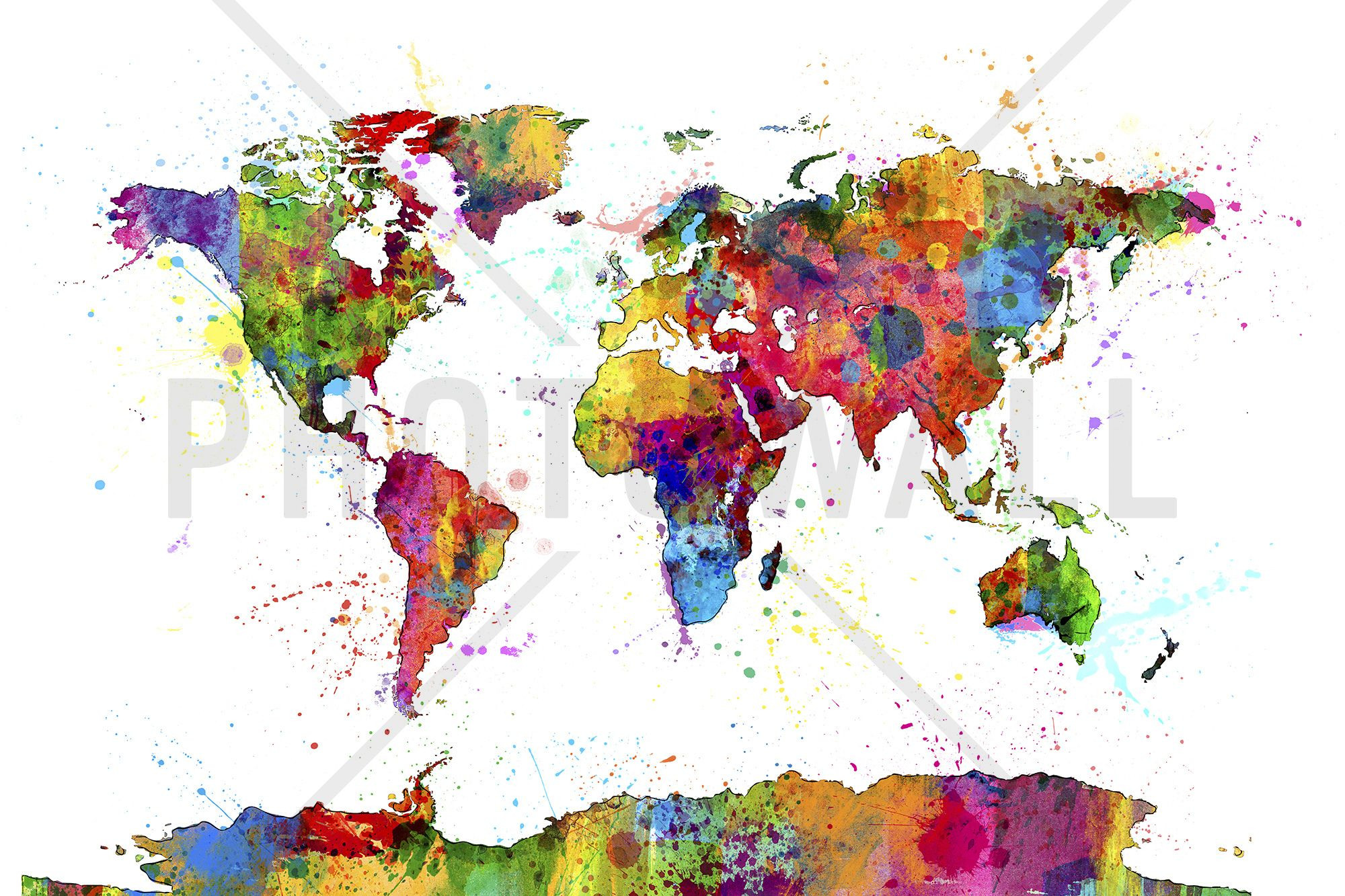 2000x1333 World Map Wallpaper ~ Best Of Watercolour World Map Wallpaper New