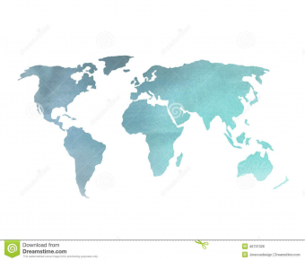 340x291 Colorful World Map Wallpaper