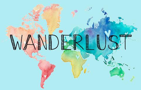 480x306 Pretty Watercolor World Map Desktop Wallpaper Wanderlustful To