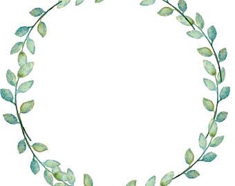 900045f42de2 340x270 Wreath Clipart Minimalist Cute Borders