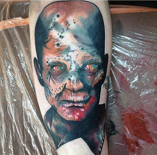 Watercolor Zombie