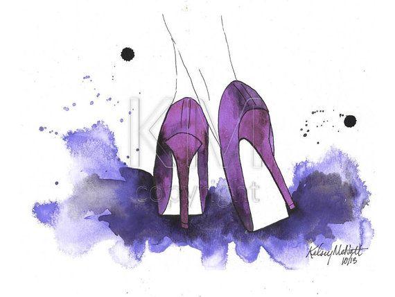Watercolors High Fashion