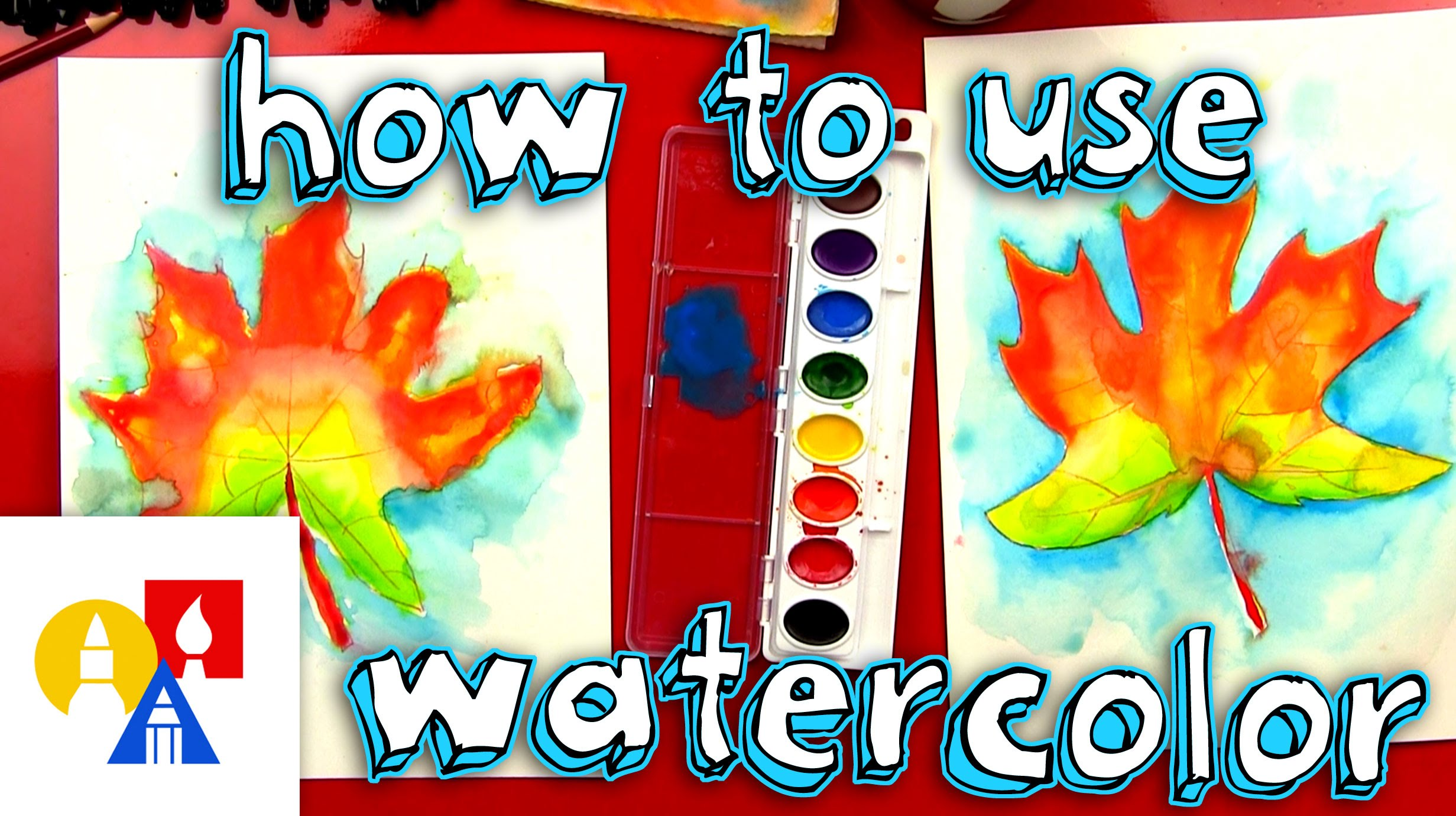 2463x1381 How To Paint With Watercolor (For Kids)