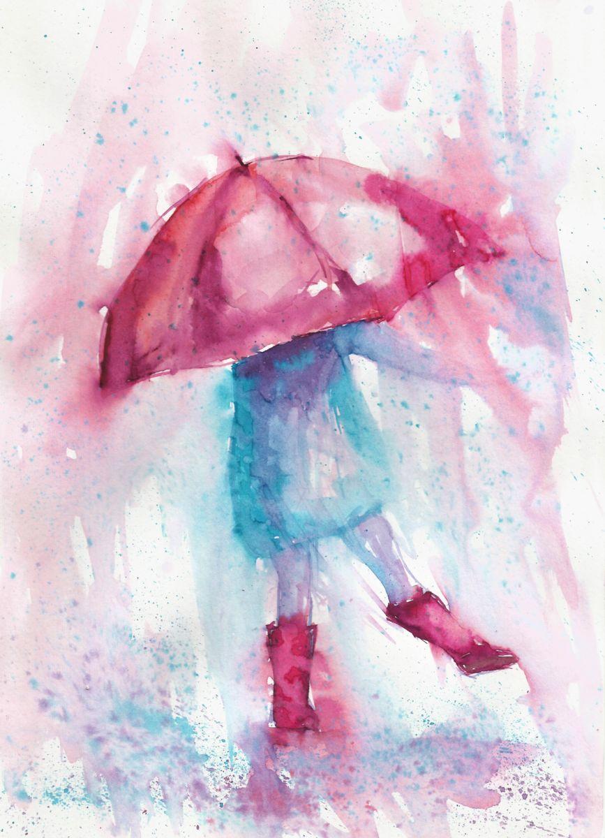 867x1200 Rainy Fantasy With Umbrella (Natalja Picugina)