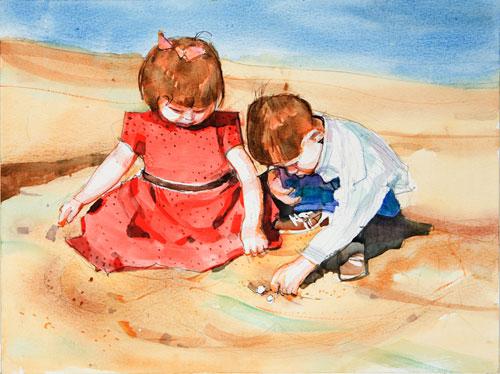 500x374 Watercolor For Children