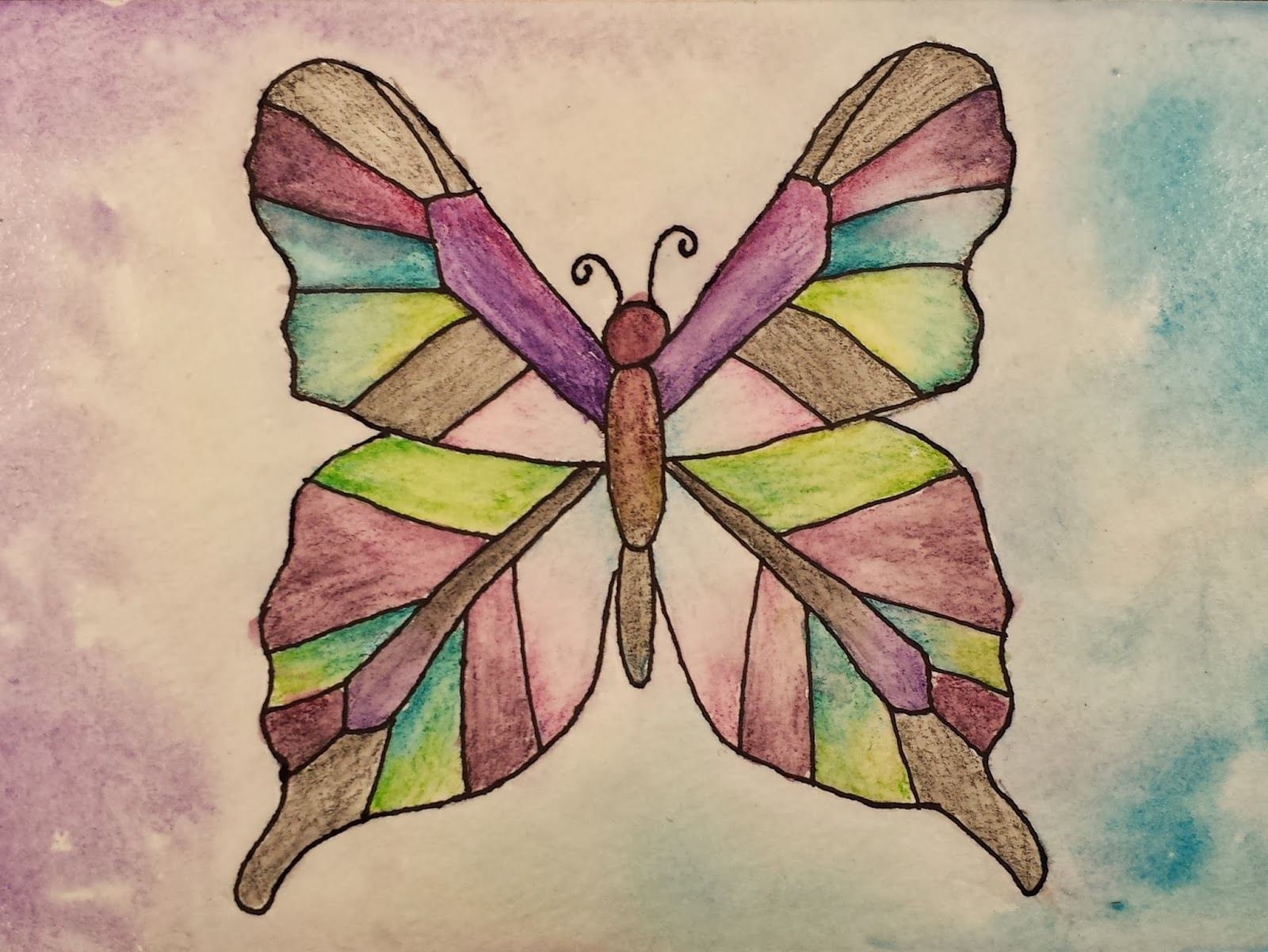 1600x1201 Angela Anderson Art Blog Butterfly Watercolor Paintings