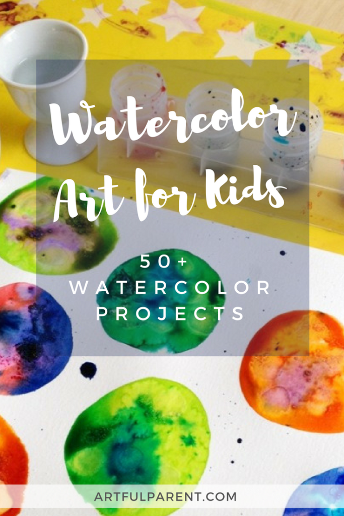 683x1024 Watercolor Projects Kids Love