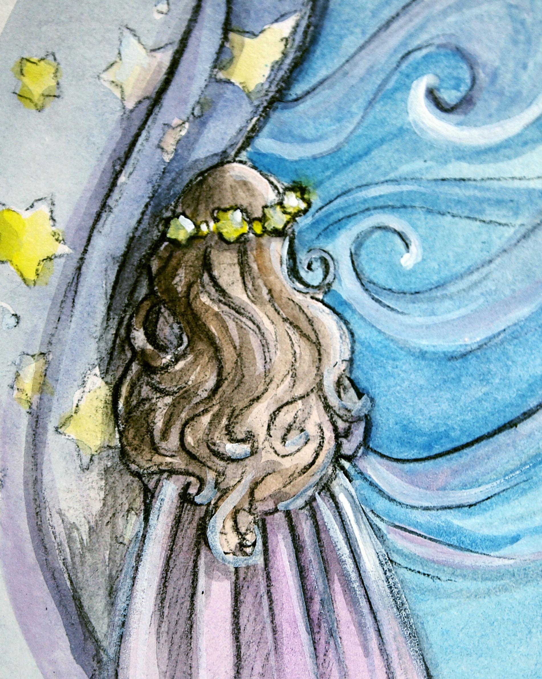 1902x2382 Watercolor Casie Sketches