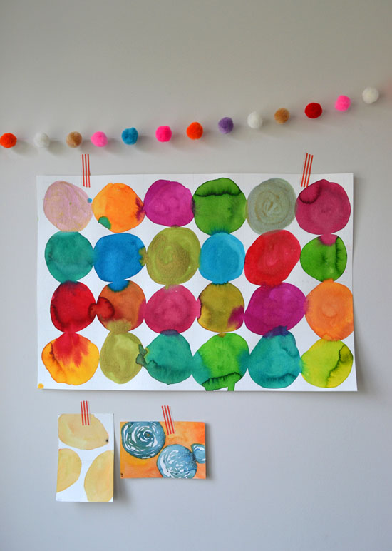 550x772 Diy Circle Painting For Kids Kandinsky Lessons With Kids Art