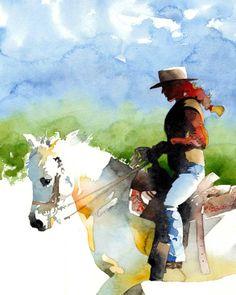 Western Watercolor