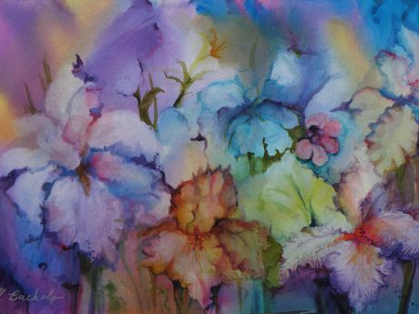 460x345 Wet On Wet Watercolor Class West Chicago News, Photos And Events