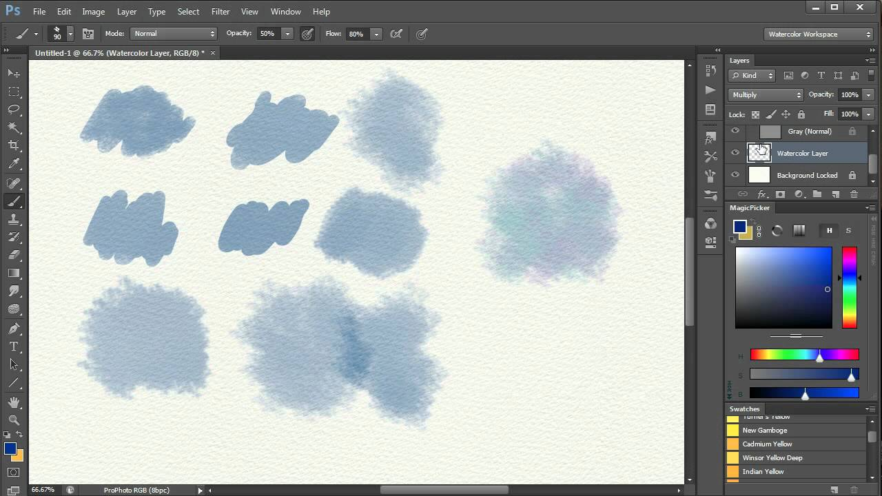 What Brushes To Use For Watercolor