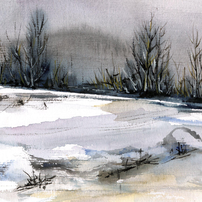 1500x1500 Winter Landscape