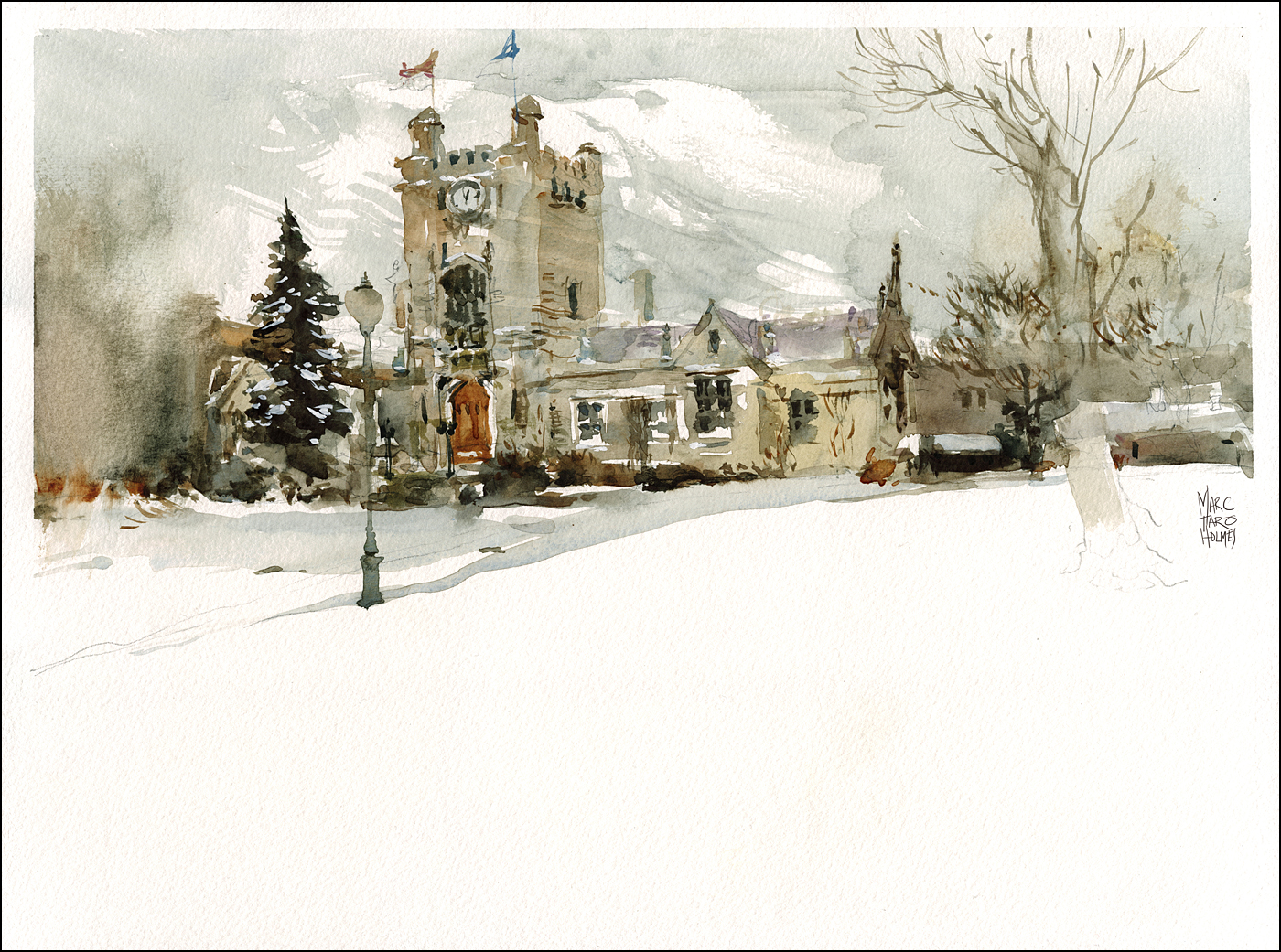 1400x1041 Winter Watercolor Five Tips For Sub Zero Painting Citizen Sketcher