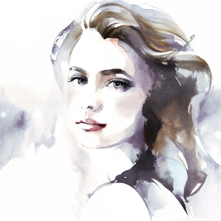 Woman Watercolor