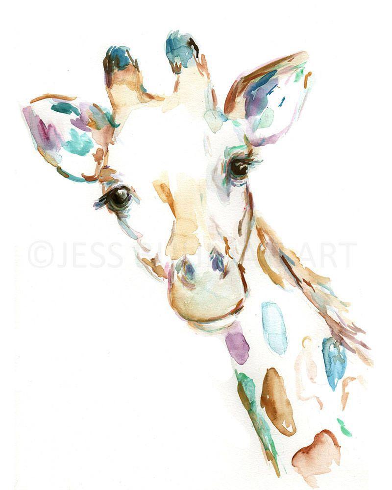 800x1000 Baby Woodland Animals Watercolor