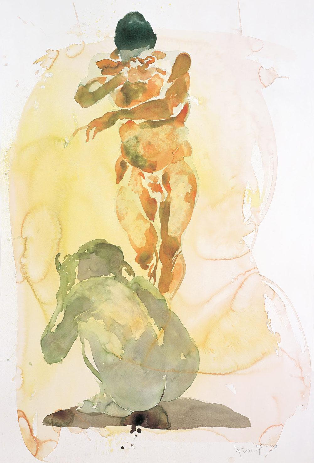 1000x1474 Watercolors Eric Fischl
