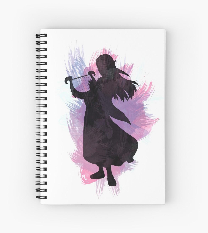 1171x1313 The Legend Of Zelda Watercolor Zelda Spiral Notebooks By Queer
