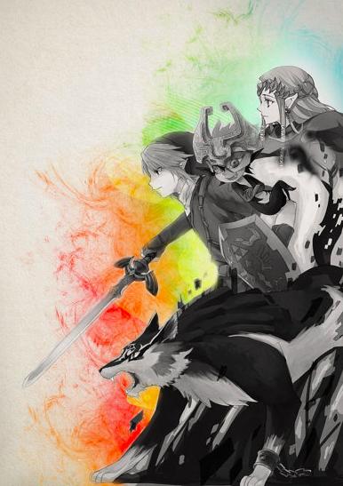 386x547 The Legend Of Zelda Watercolor Prints Found On Etsy Zelda Dungeon