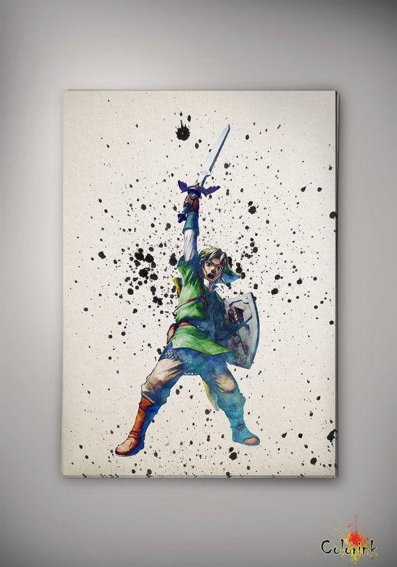 570x814 Legend Of Zelda Art Prints